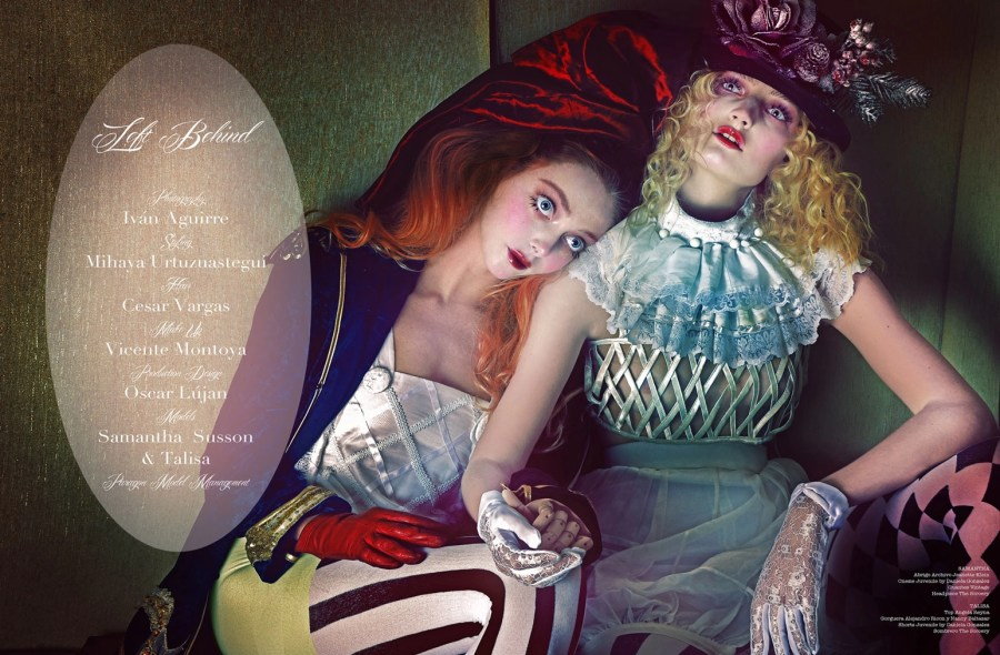 Left Behind PHOTO Ivan Aguirre, STYLING Mihaya, MAKEUP Vicente Montoya,
