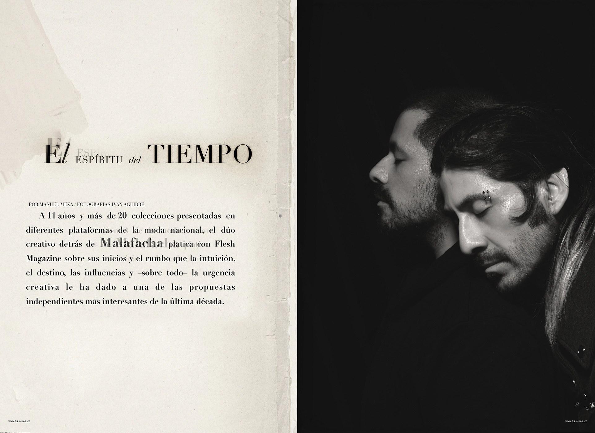 Malafacha entrevista por Manuel Meza, El espíritu del tiempo, Fotografía Ivan Aguirre