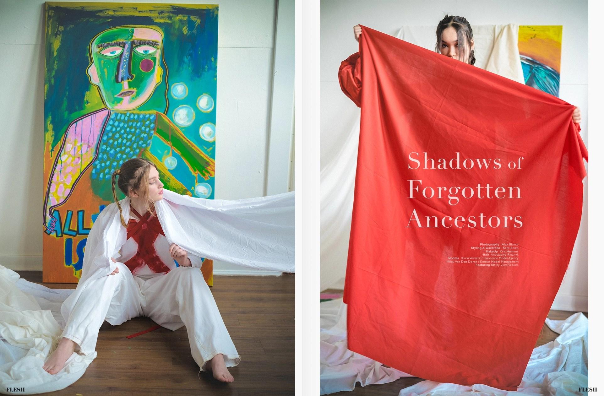 Shadows of Forgotten Ancestors PHOTO Alex Blanco STYLING Kate Boiko
