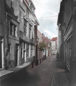 Dortmanstraat : voorgrond 1955 overlopend naar 2014