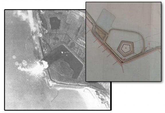 Nolledijk 1944  en Fort de Nolle 1808
