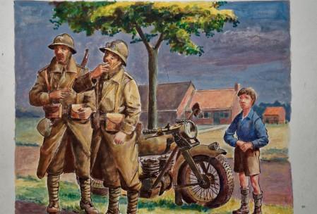 14 mei 1940 Franse Militairen