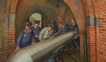 Torpedo opslag in het Keizersbolwerk.