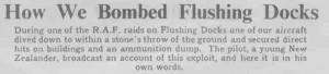 Flushing Docks