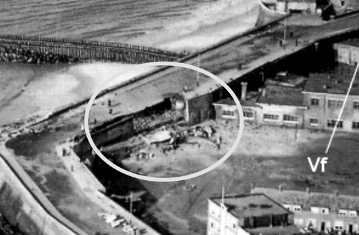 Ingebouwde bunker boulevard