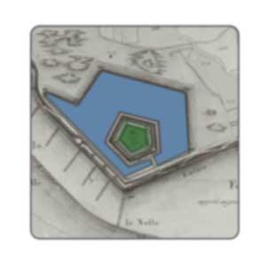 Gebouwen, forten en kroonwerken –  1809/1814 Deel 2 –