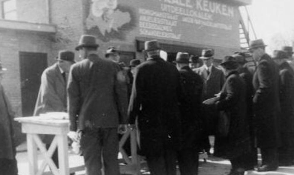 Vervanging Centrale Keuken bombardement 1 juni 1942