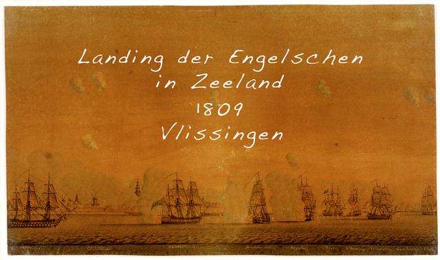 De landing der Engelschen in Zeeland 1809