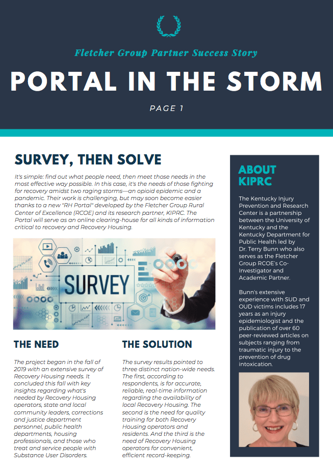 PORTAL IN THE STORM SUCCESS STORY COVER