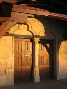 tympan tréflé église saint jean baptiste