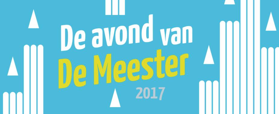 Evening of De Meester 2017: the jury has been announced