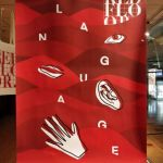 "RED FLOOR GALLERY expositie ""language"" in alexandrium, 12 mei 2021"