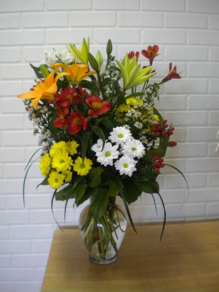1-130.00 $ avec vase