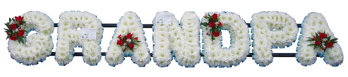 Floral Ideas Grandfather Funeral