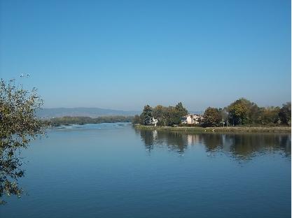 La Saône à Thoissey, par Patrick Huet