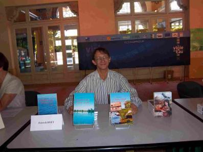 Patrick Huet au salon du livre de Vittel