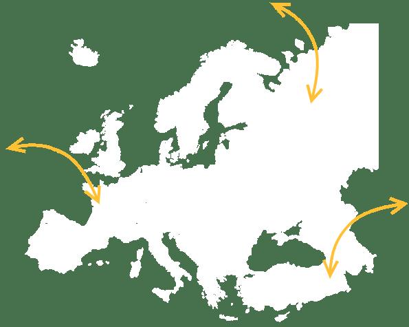 kamionová přeprava Evropa, Balkán, Rusko Flex Logistik s.r.o.