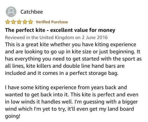kite flying review