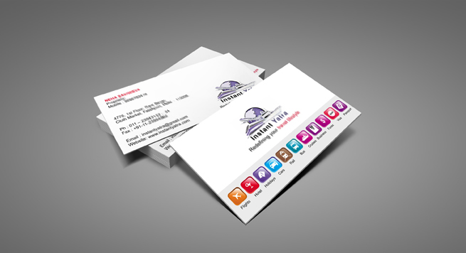 Business Card Design And Printing For Tours Amp Travels