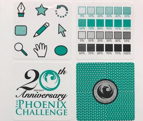 Phoenix Challenge High School Competition Team #7 Label printed by Phoenix Challenge Foundation on Behalf of Knox High School