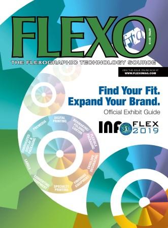 FLEXO Magazine April 2019 Cover