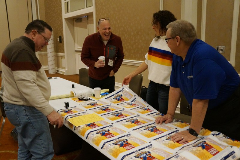 2019 Excellence in Flexography Awards mid web judging