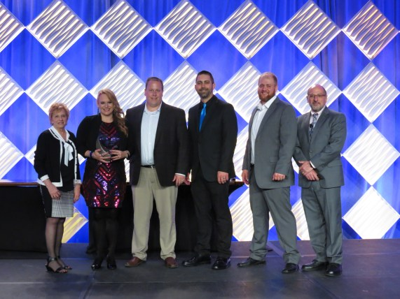 Forum 2019 Awards Banquet Paper Converting Machine Co Technical Innovation Award SteadyPrint