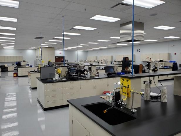 INX International West Chicago expansion lab