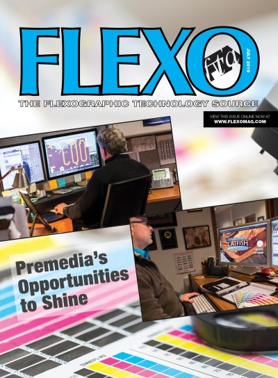 FLEXO Magazine July 2019 cover