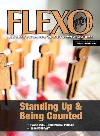 FLEXO Magazine January 2020 cover