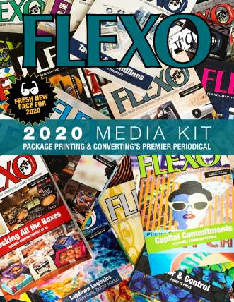 FLEXO Magazine 2020 Media Kit cover