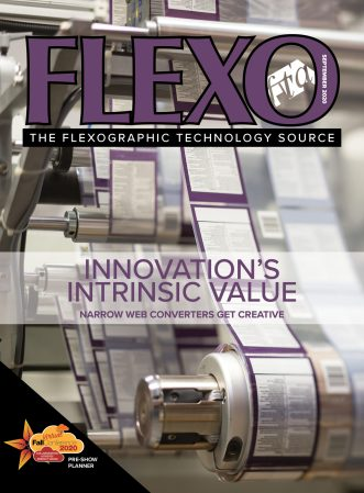 FLEXO Magazine September 2020 cover