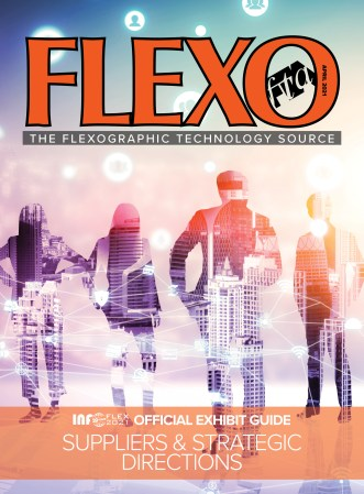 FLEXO Magazine April 2021 cover