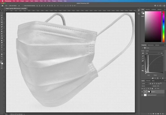 HYBRID Software Agness Mask Contrast Adjustment