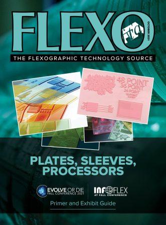 FLEXO Magazine October 2021 cover