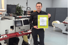 Phil Baldwin, Aftermarket Manager-Europe with Esko Full HD Certificate