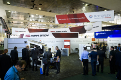 The Rotoflex stand at Labelexpo Europe 2015