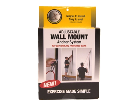 wall anchor for any resistance band
