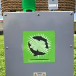Green Underwater fish and dock light system installation