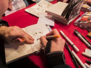 Dédicaces à Dédicaces à Angoulême (Photo : Dominique Clère) - Flibusk