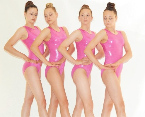"""Simply Tank"" Pink by Flick Gymnastics"
