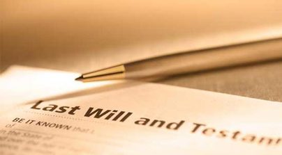 Image result for reading of the will