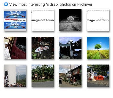 View most interesting 'sidrap' photos on Flickriver