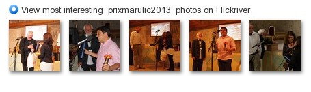 View most interesting 'prixmarulic2013' photos on Flickriver