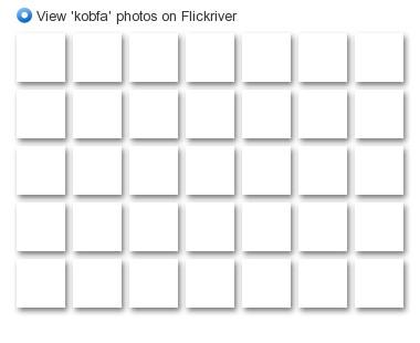 View 'kobfa' photos on Flickriver