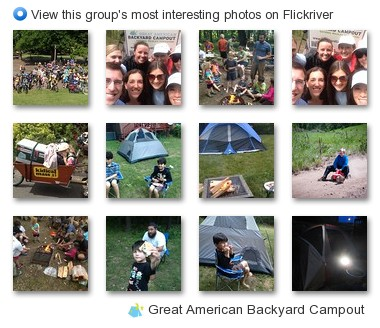 Great American Backyard Campout - View this group's most interesting photos on Flickriver