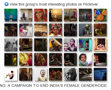 50 MILLION MISSING: A CAMPAIGN AGAINST INDIA'S FEMALE GENOCIDE - View this group's most interesting photos on Flickriver