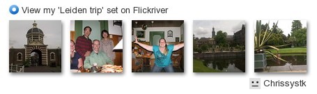 Chrissystk - View my 'Leiden trip' set on Flickriver
