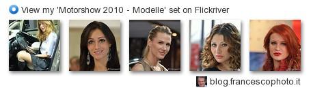 FrancescoC - View my 'Motorshow 2010 - Modelle' set on Flickriver