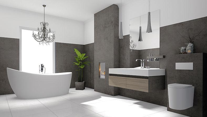Top Bad-Installationen - Moderne Badewannen und Waschbecken QQ62
